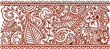 Diy Tutorial Designing A Henna Inspired Reception Program Using