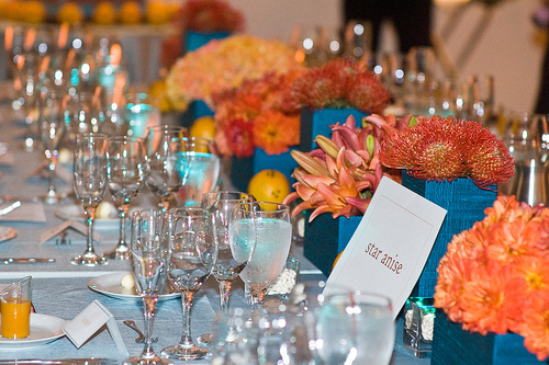 Beautiful Colors and Centerpieces Marigold Events Indian Wedding