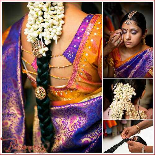 south indian bridal makeup. I love the traditional South