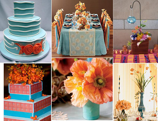 Decorating With Colors Mango: The Hottest Colors For Weddings In 2010: Mango And