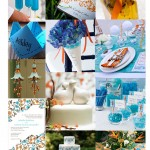 The hottest colors for weddings in 2010: Mango and Turquoise