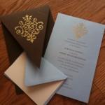 Contemporary Invites for the DIY Bride