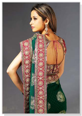 Choli Blouse http://www.marigoldevents.com/2010/06/latest-saree-blouse-styles-and-cuts/