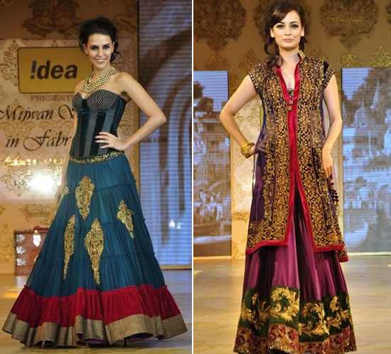 Fall 2011 Indian Fashion Trends Marigold Events Indian Wedding