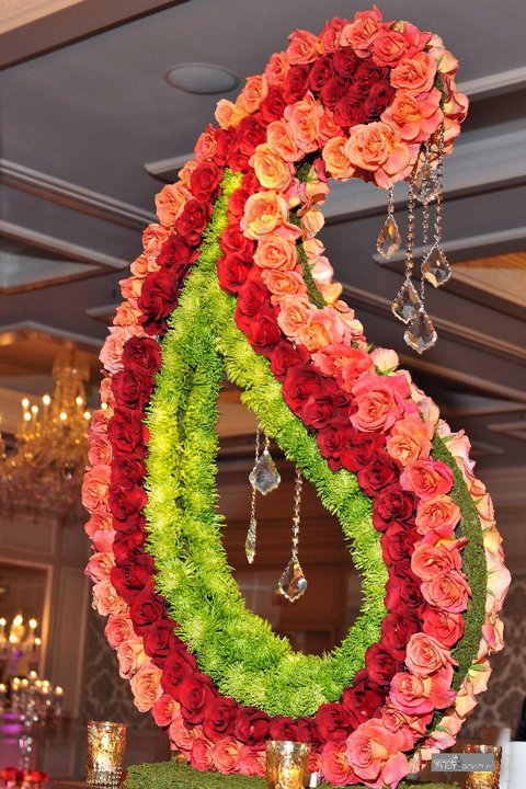 Mehndi Flower Arrangements : Mehndi inspired decor � marigold events