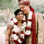 East Meets West in a Modern Vintage Wedding