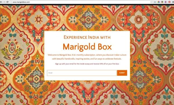 Marigold Box